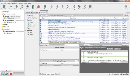 SourceTree screenshot